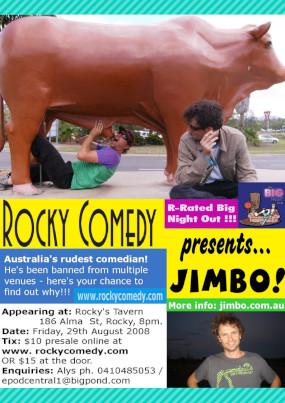 Jimbo's Big Night Out – 29th August 2008 – ROCKHAMPTON