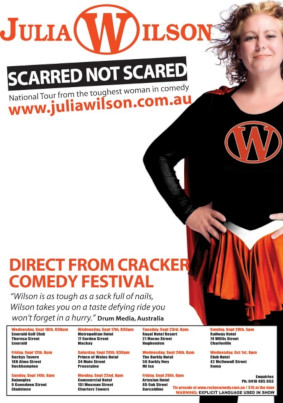 Julia Wilson – Scarred Not Scared tour Sept/Oct 2008 – QLD