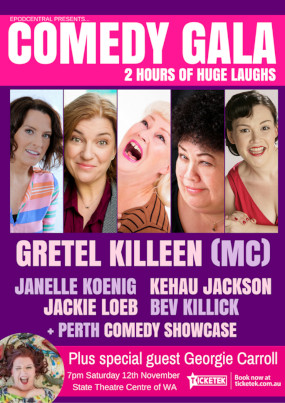 Comedy Gala November 12th 2016 – PERTH