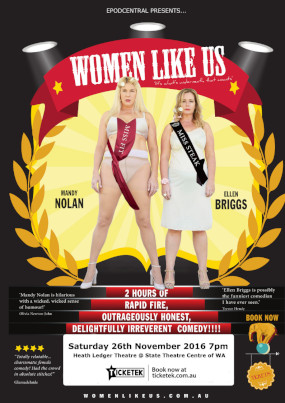 Women Like Us – 14th May & 26th November 2016 – PERTH
